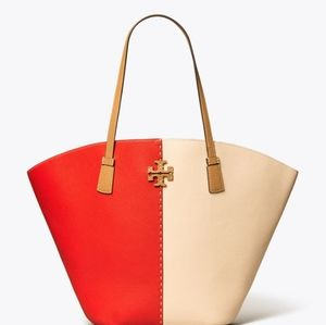 💞NWT Spring 2020 Mcgraw Tory Burch Large Tote💞
